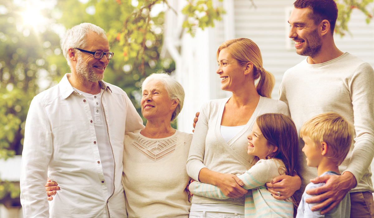 Ključ do dolgega življenja družine